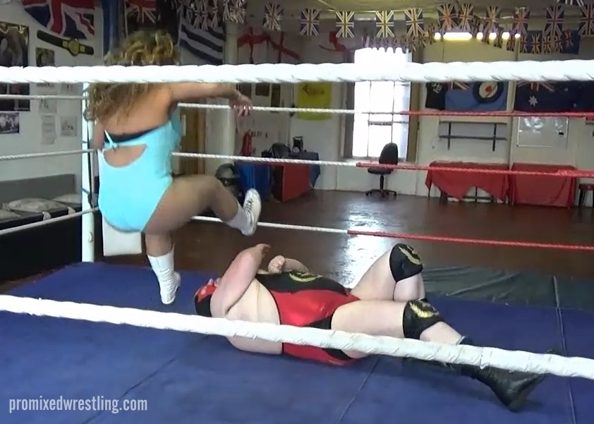 Starr leg drops Tyrant