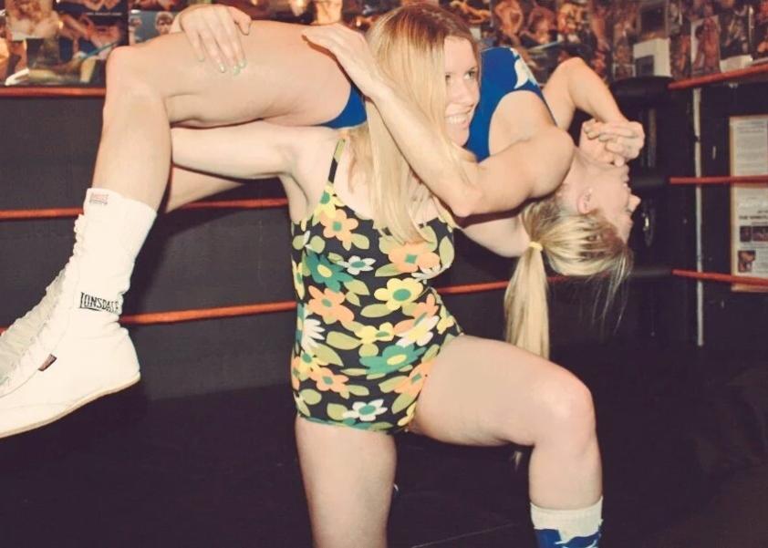 Brooke tortures a sparring partner